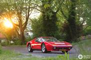 Fotos espetaculares dum Ferrari 512 BBi em Voorburg
