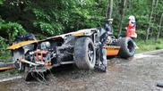 Passageiro morre em acidente num Ford GT40