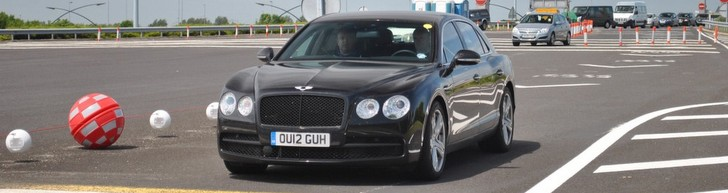 Reperat inainte de prezentare: Bentley Flying Spur V8