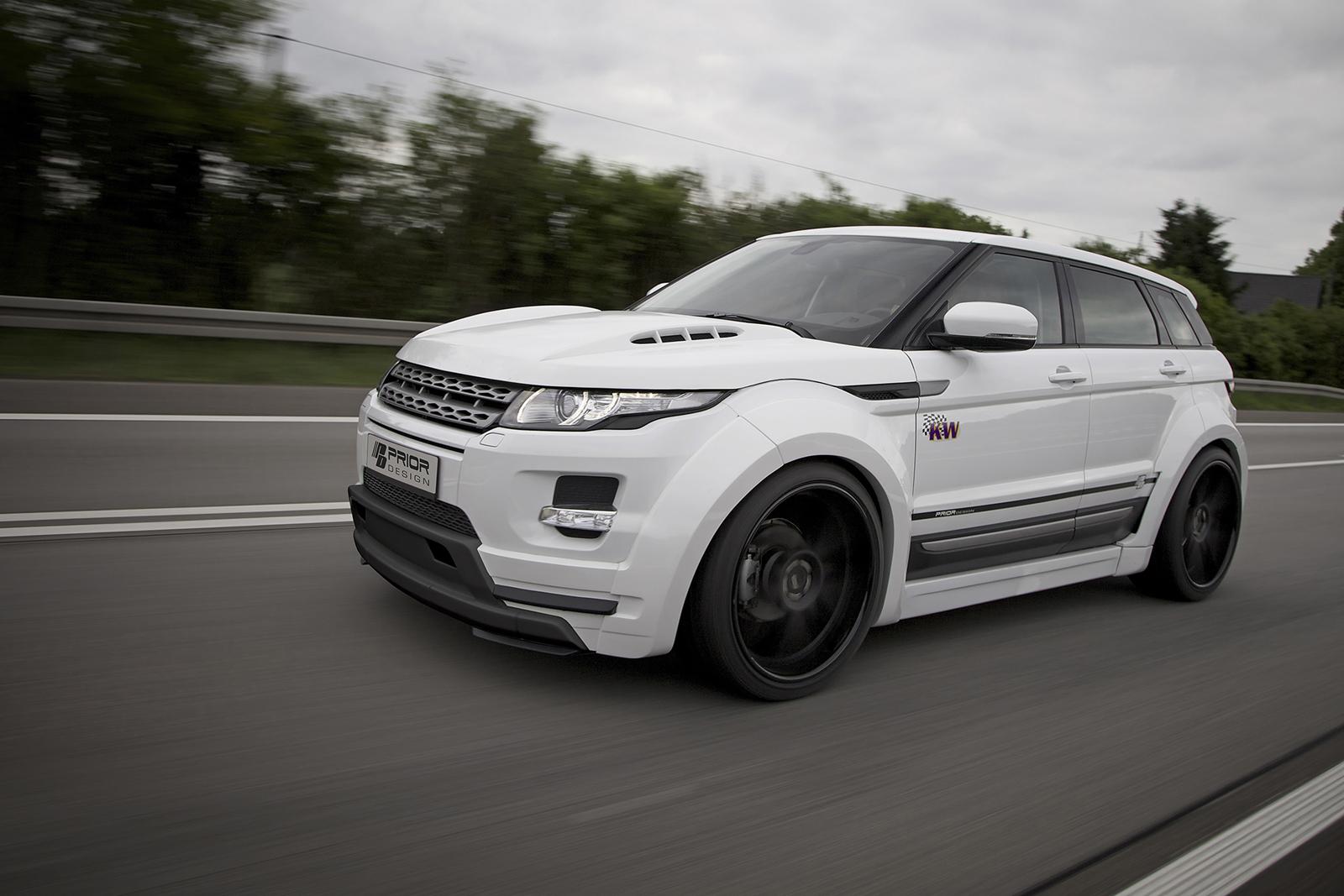 Range Rover Evoque 2013 >> Prior Design stworzył kreację dla Range Rovera Evoque