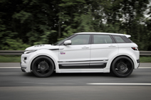 Range Rover Evoque creates a widebody kit by Prior Design