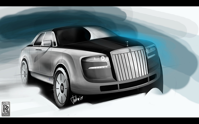 Rolls Royce S Suv Depends On The Bmw X7