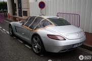 Kas atsitiko siam Mercedes SLS AMG?
