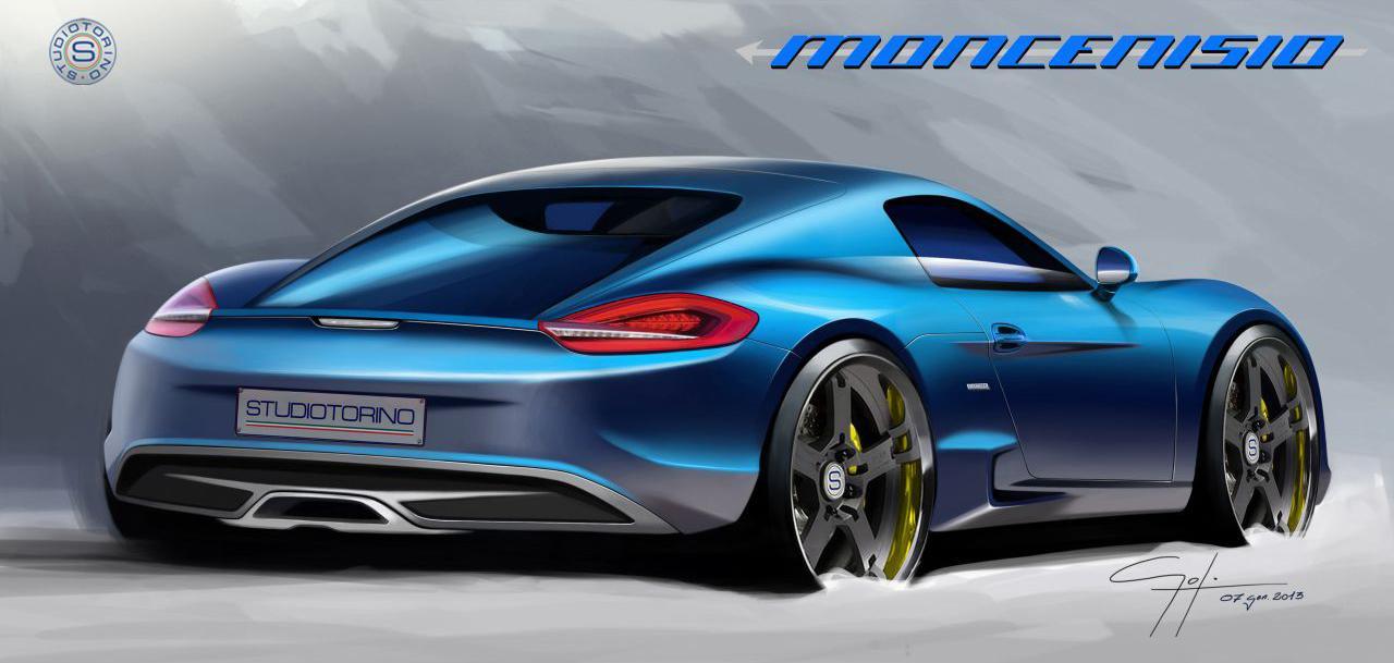 Porsche Cayman S With An Italian Design Studiotorino Moncenisio