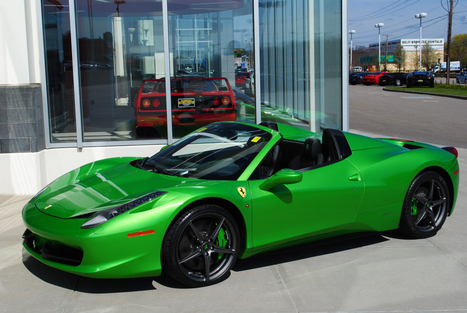 Unique Ferrari 458 Spider is looking for a new owner
