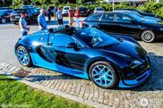 Já cheira a verão: Veyron Grand Sport Vitesse fotografado na Alemanha