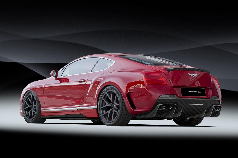 V 246 Rsteiner Presenta Il Suo Bodykit Per La Bentley Continental Gt