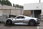 Spot van de dag: Porsche 918 Spyder in Rijswijk