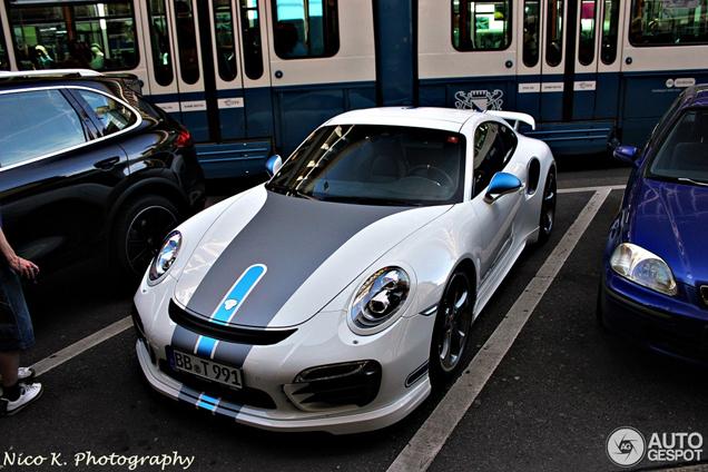 Zo mooi kan een Porsche 991 Turbo S zijn