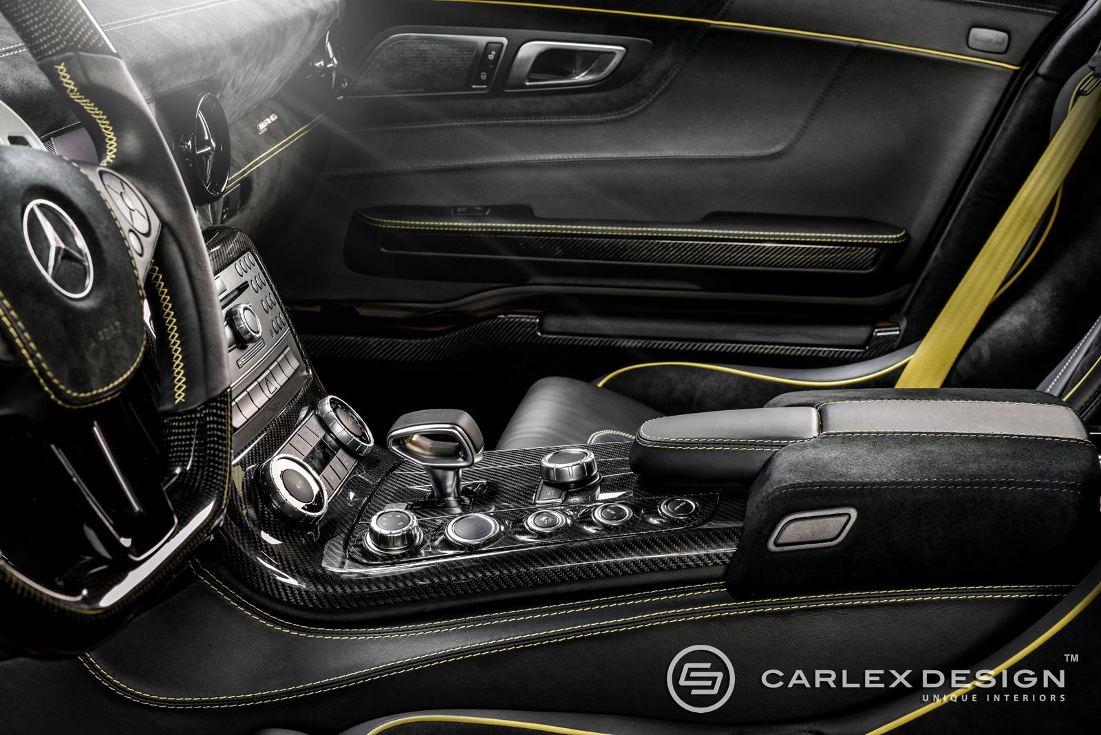 carlex design pimpt de mercedes benz sls amg black series