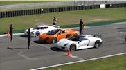Vidéo: Drag race Porsche 918 Spyder, McLaren 650S et Koenigsegg Agera