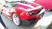 Foto e video della Ferrari F12 TRS!
