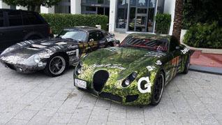 Gumball 3000: een verzameling van auto's