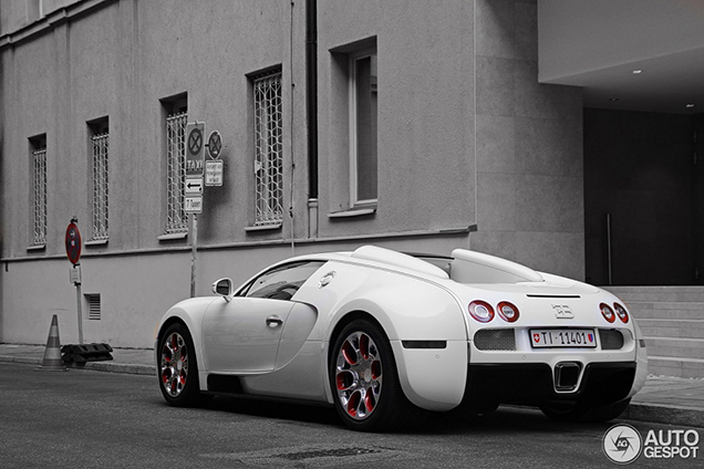 Bugatti Veyron 16.4 Grand Sport 'Wei Long' can be found in Europe