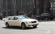 It won't get more decadent than this Maybach
