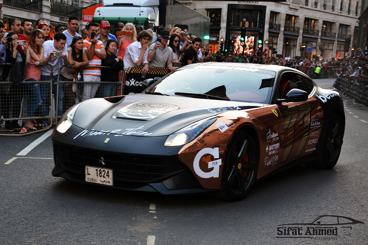 Gumball 3000 At London S Regent Street