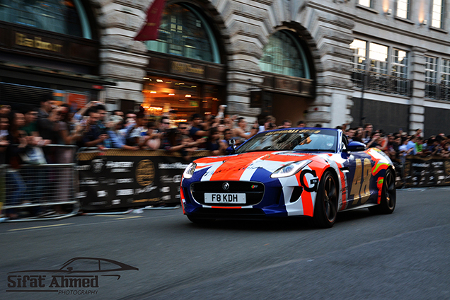 Gumball 3000 at London's Regent Street