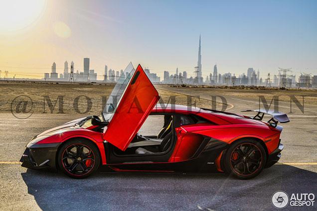 Lamborghini maakt skyline van Dubai compleet