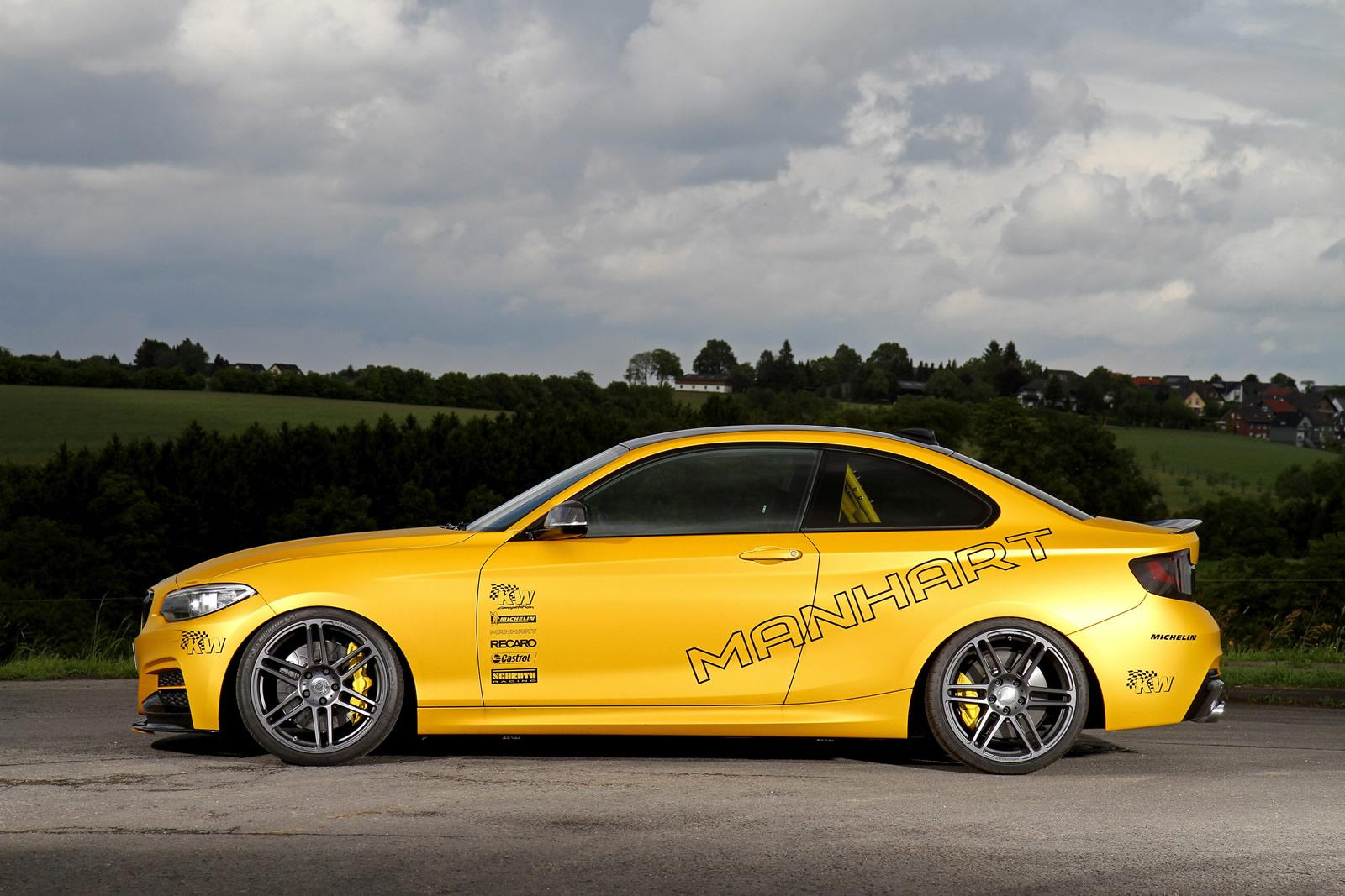 Manhart boosts the power of the BMW M235i to 430 hp