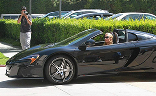 paris hilton now owns a mclaren