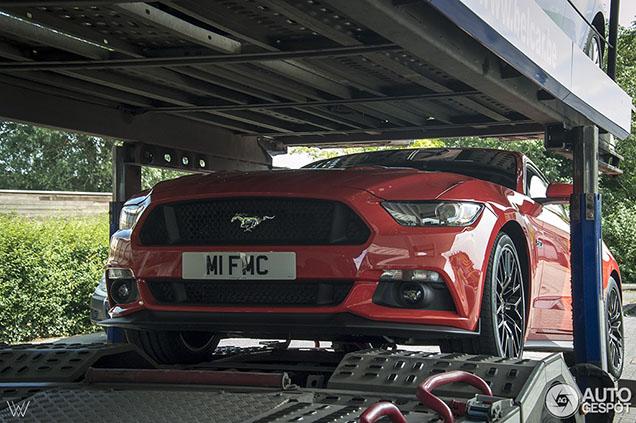 Eerste nieuwe Ford Mustang GT is gespot in…