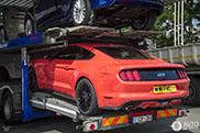 La première nouvelle Ford Mustang GT spottée en...