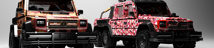 Dartz launches G-Squad program with an extravagant G 63 AMG 6x6