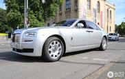 Phát Hiện Phiên Bản Facelifted Rolls-Royce Ghost EWB