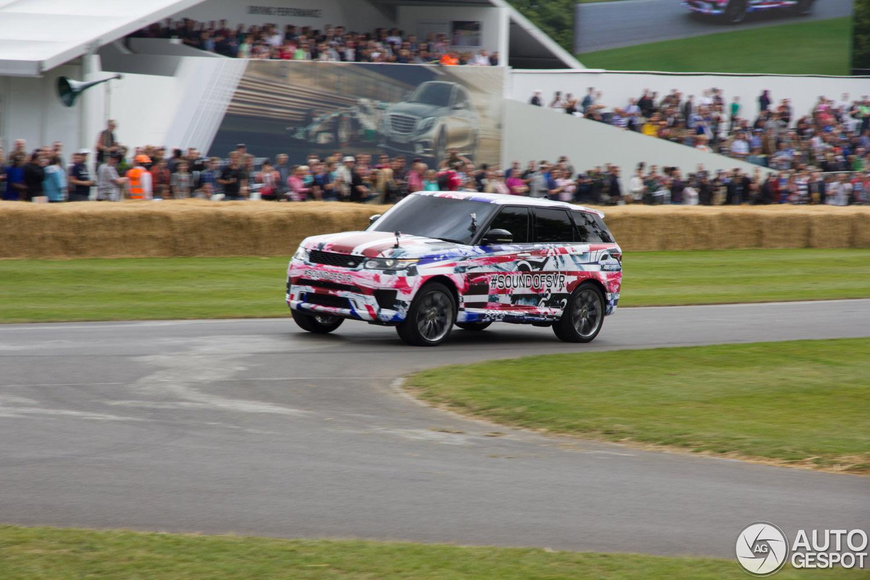 Goodwood 2014: Range Rover Sport SVR is indrukwekkend