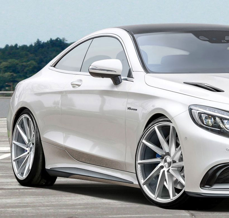 Voltage Design Shows Their Vision On The Mercedes Benz S