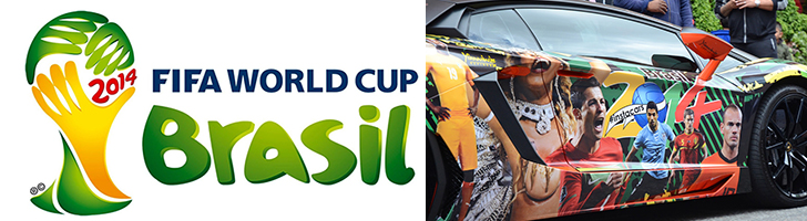 Mundial de Brasil 2014: los coches de los futbolistas
