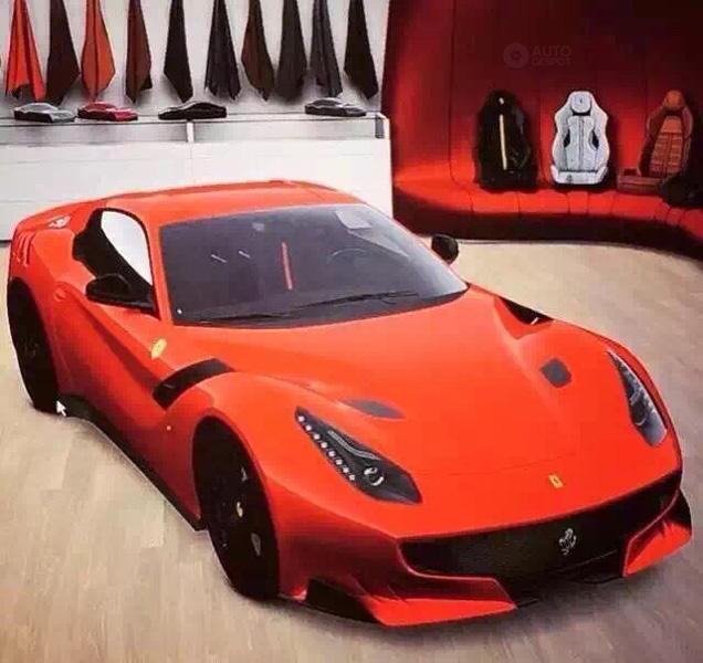 Zeg maar hallo tegen de Ferrari F12 GTO!
