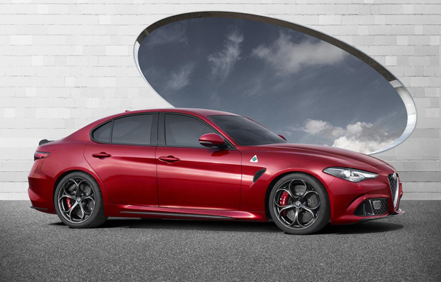 Italiaanse furie legt Duitsers vuur aan de schenen: Alfa Romeo Giulia