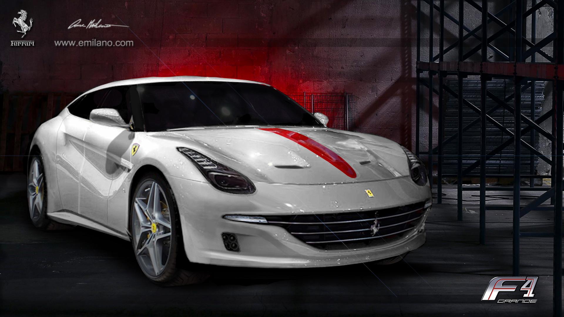 Rendering Ferrari Grand F4