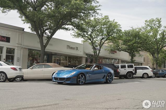Ferrari SuperAmerica 45 vastgelegd in Greenwich