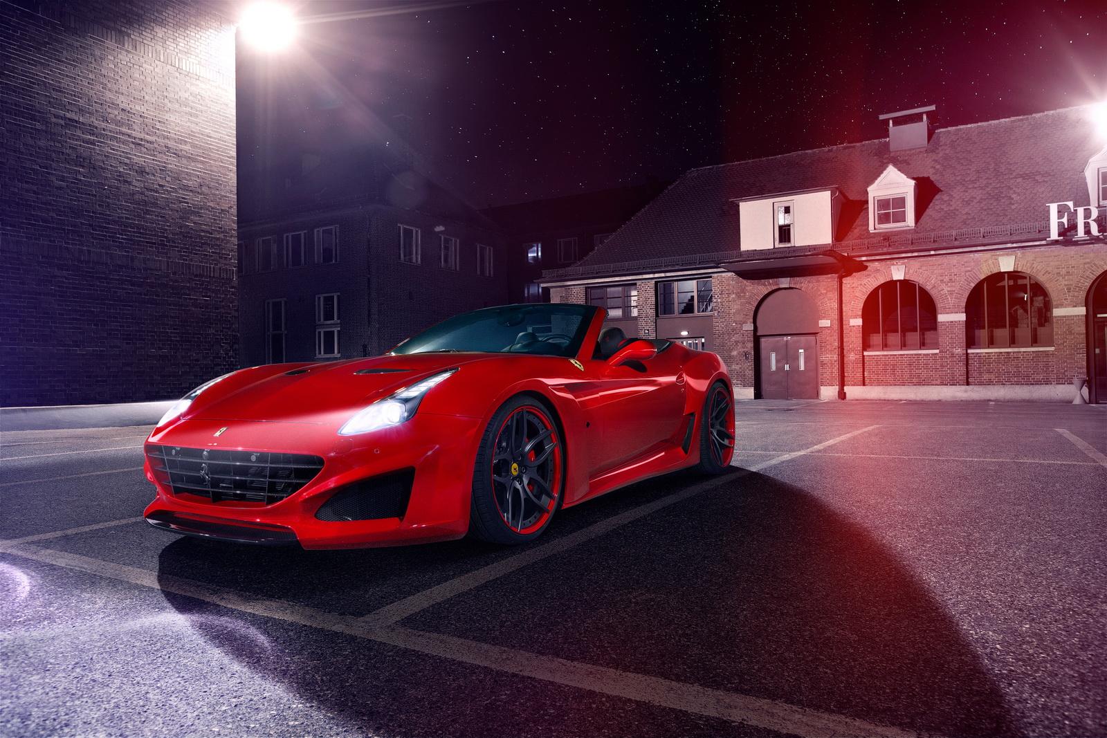 Novitec Rosso builds N-Largo version of the Ferrari California T