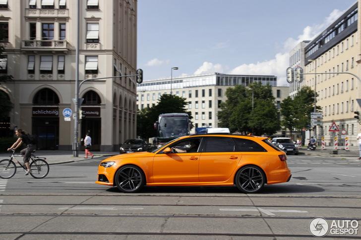 Verrassend lekker: oranje Audi S6 Avant