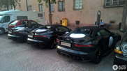 Spotted: four copies of the Jaguar F-TYPE Project 7