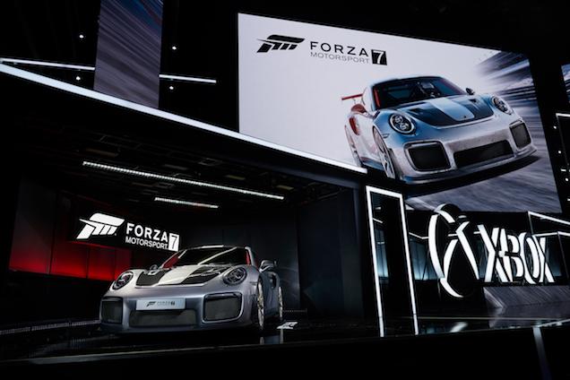 Een merkwaardige onthulling: Porsche 991 GT2 RS & Forza 7