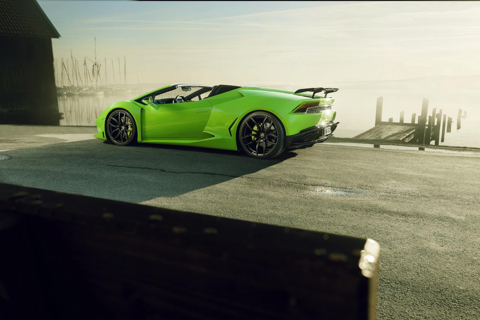 Roofless Monster Novitec Lamborghini Hurac 225 N N Largo