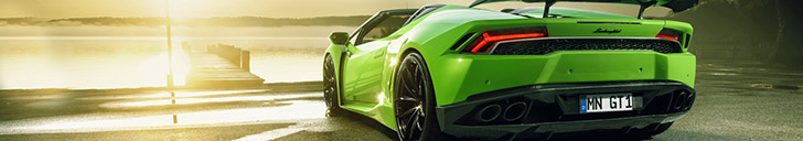 Dakloos monster, Novitec Lamborghini Huracán N-Largo