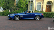 Spotted: Beautiful Mercedes SL63