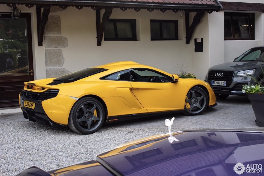 McLaren 650S Le Mans is gespot in de verkeerde plaats
