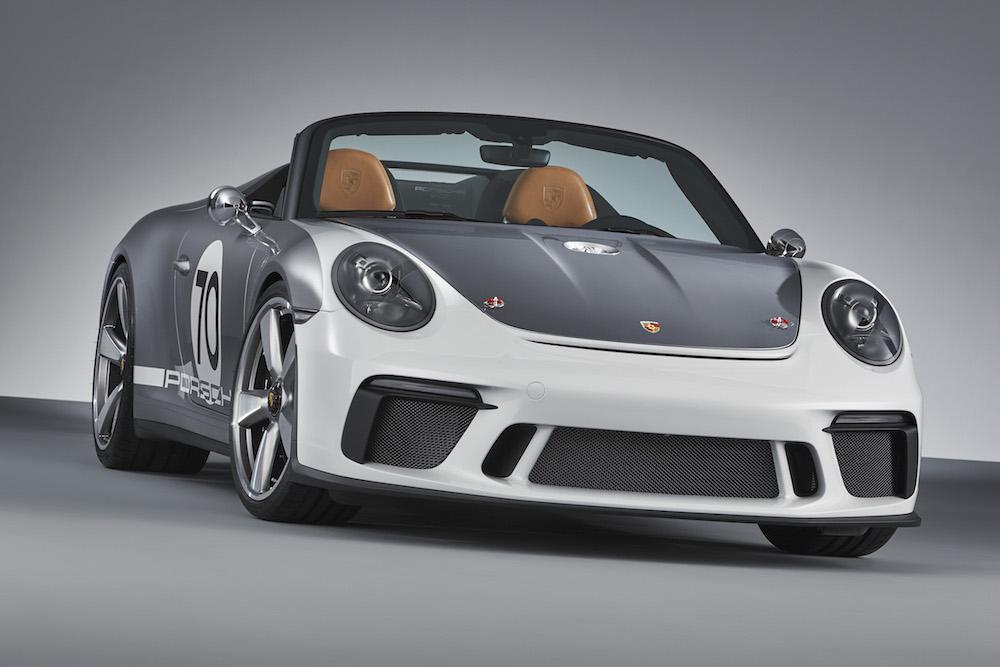 De Porsche 911 Speedster Concept is een bijzonder verjaardagscadeau