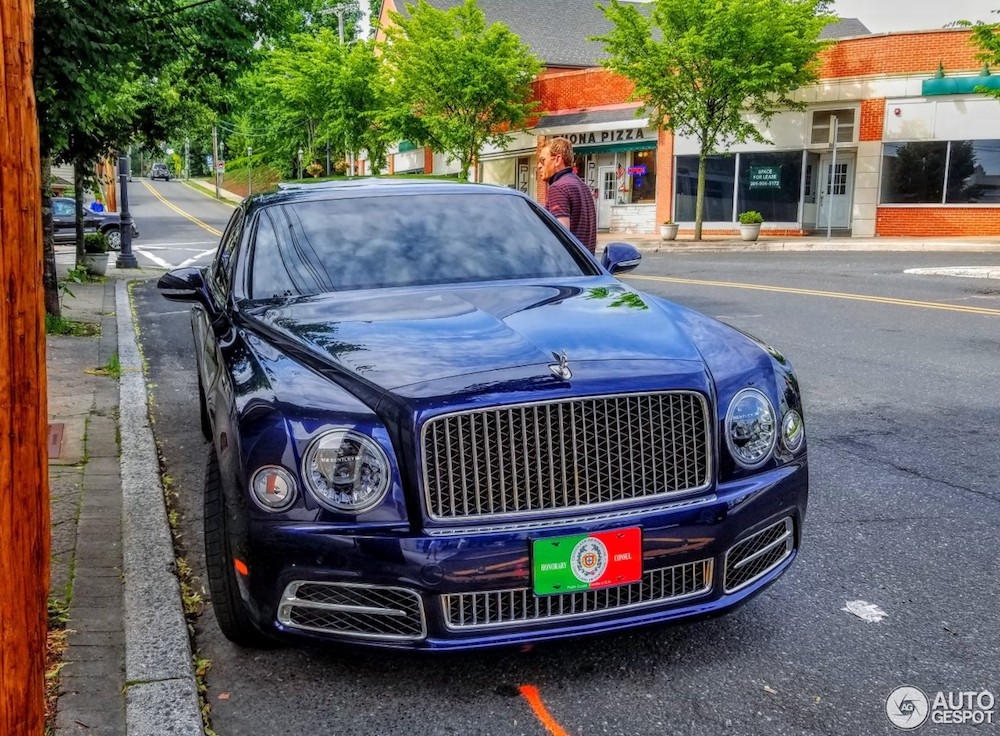 Spotted: Bentley Mulsanne Hallmark Edition