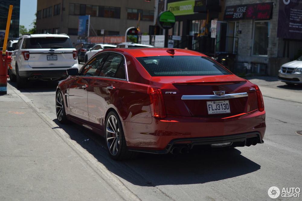 Cadillac CTS-V, een waardig alternatief?