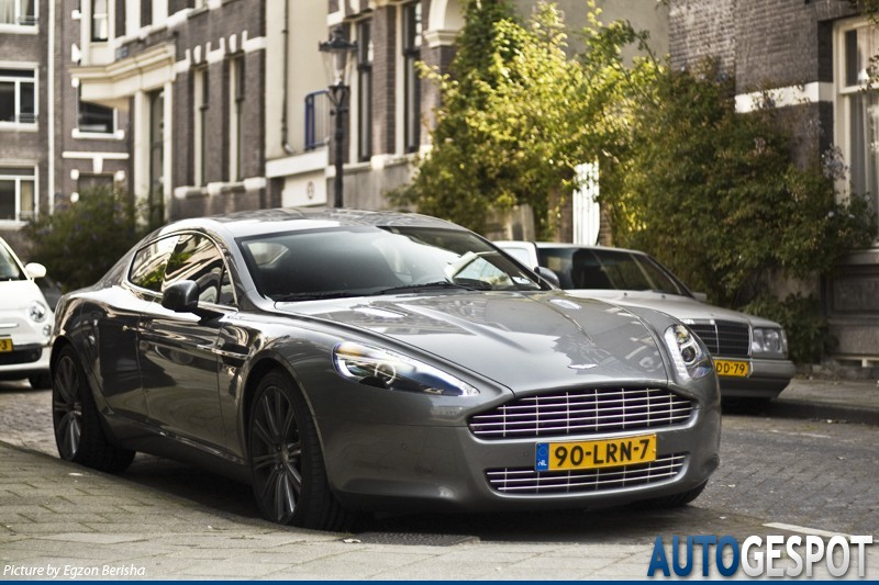 's Lands oudste: Aston Martin Rapide