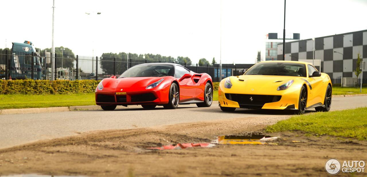 Spot van de Dag: Ferrari F12 TDF in Kruisland