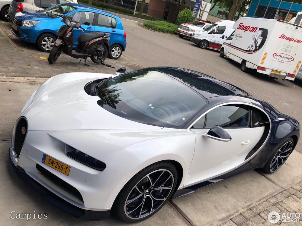 Spot van de Dag: Nieuwe Bugatti Chiron gespot