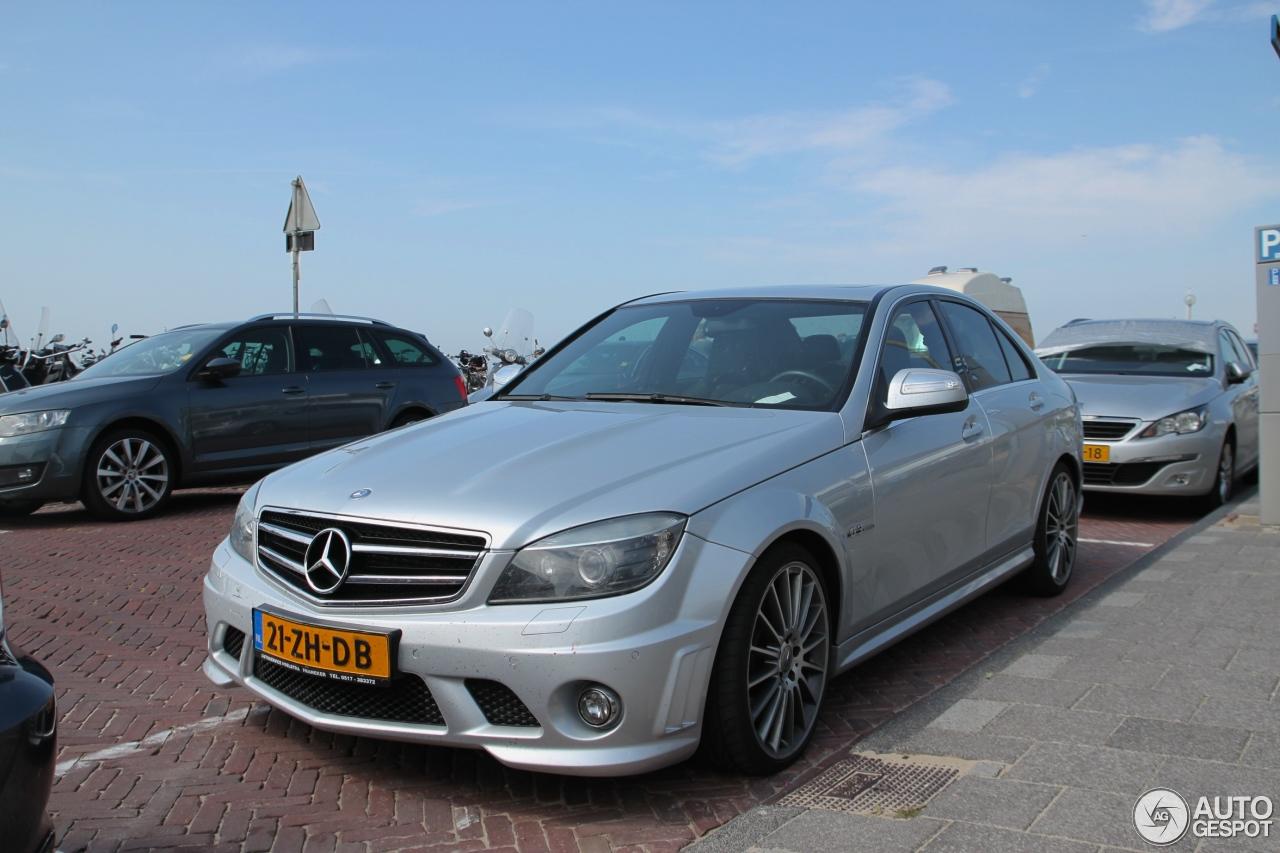 's Lands oudste: Mercedes-Benz C 63 AMG W204